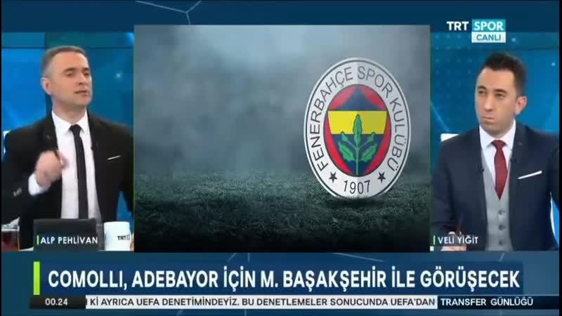 Fenerbahçe Transfer Gündemi Trtspor Transfer Günlüğü 29 Ocak