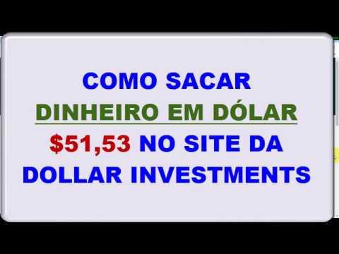 Como Fazer Saques em Dólar na Dollar Investments