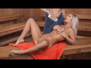 Luna skye (getting hot in the sauna / 05.04.2019) [all sex, blowjobs, big tits, 1080p]