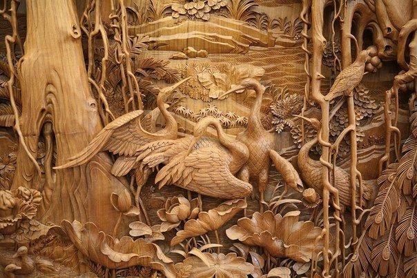 Китайская школа резьбы по дереву, изображение №2