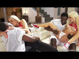 Kenzie Reeves  Olivia Austin - Two Big Black Cock [MILF, Big Tits, Cuckold, Petite, Tattoos]