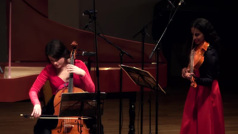 J G Graun Quintet in A minor GraunWV Av XIV 14 Croatian Baroque Ensemble Ana Benić