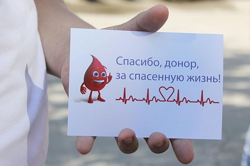 Сдай кровь. Поделись жизнью