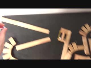 Трюки с использованием деревяшек, шариков и резинок