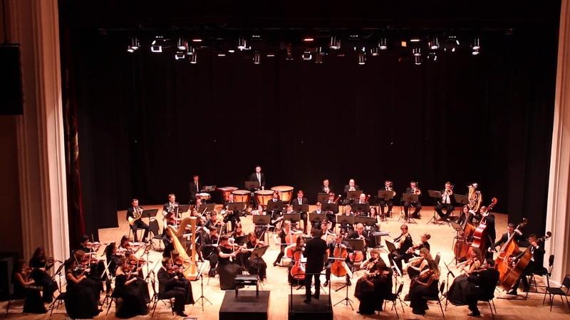 Р.Воан-Уильямс. «Норфолкская рапсодия» №1. Рязанский губернаторский симфонический оркестр