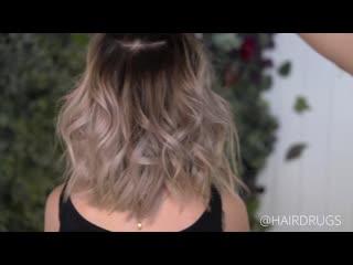 Растяжка цвета @hairdrugs
