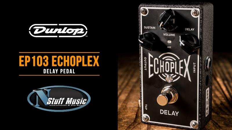 Dunlop EP103 Echoplex Delay Pedal - In-Depth Demo