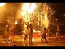 Форум древних городов завершился шествием и выступлением театра огня