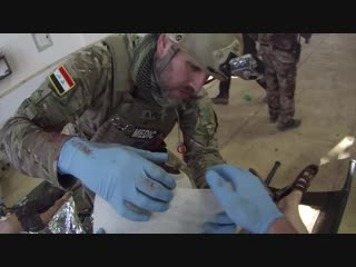 Working alongside iraqi special forces medics