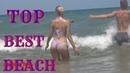 SPANISH BEST BEACH, Walk on the beach, Sunny Hot Weather, Swim at sea, Fun Summer Video,