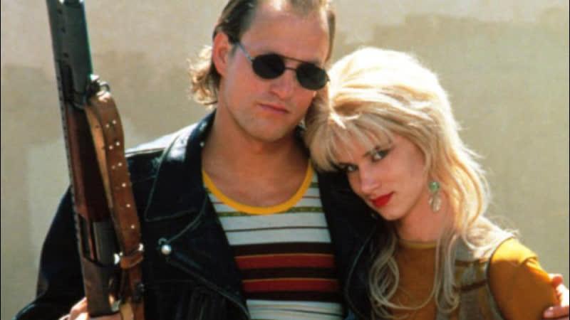 Прирожденные убийцы Natural Born Killers US 1994 сценарий Квентина Тарантино в ролях Вуди Харрельсон Джульетт Льюис