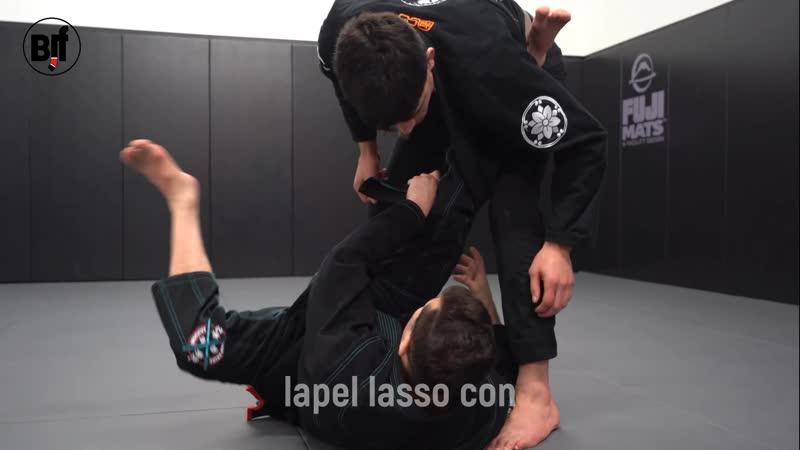 Caio Terra - lapel lasso control and omoplata