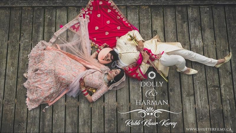 DollyHarman Best Sikh Wedding Highlights