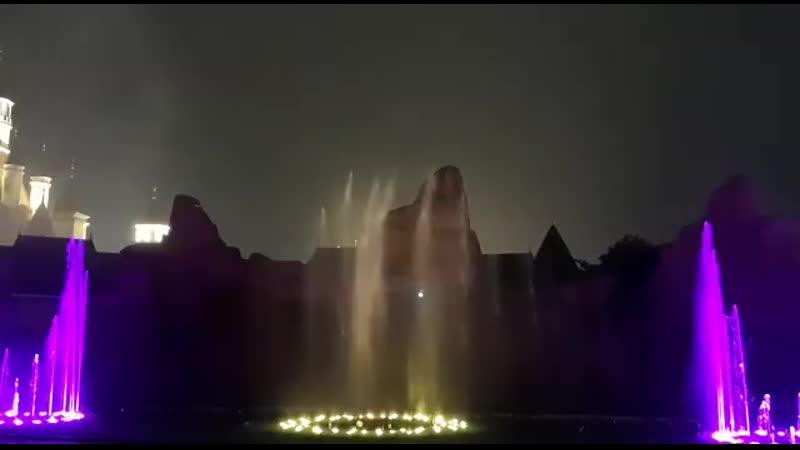 поющие фонтаны на Вин Перле