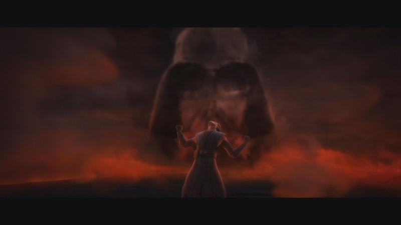 Star Wars The Clone Wars Anakin's vision of Future as Darth Vader 1080p