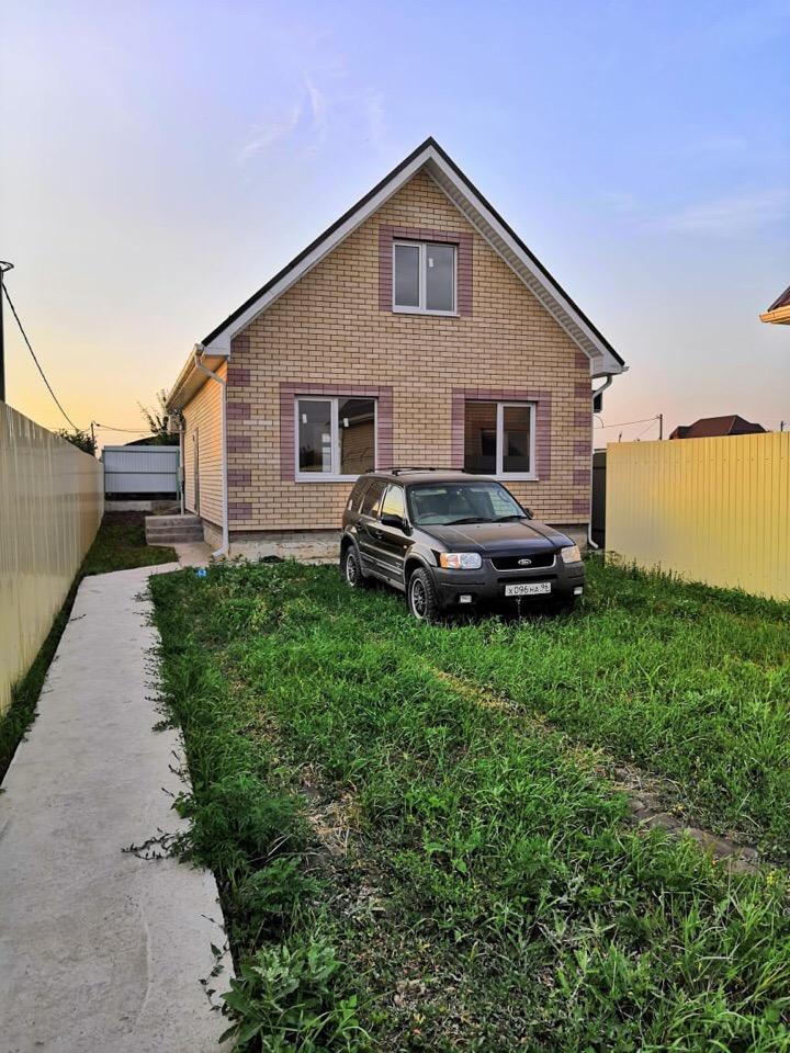 Фото типового дома по вышеуказанному бюджету (приобрел клиентам в п. Российском пару месяцев назад)