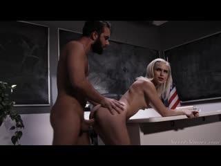 Kiara Cole - The Seductress Scene 1 - Porno, Teen, Blonde, Blowjob, Natural Tits, School, Porn, Порно