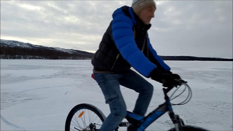 Зима даже на велосе не покататься