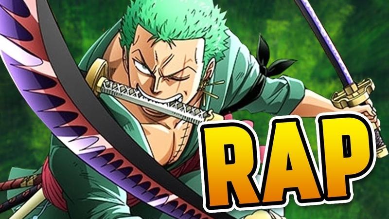 ZORO RAP | Three Sword Strike | RUSTAGE (ONE PIECE RAP)
