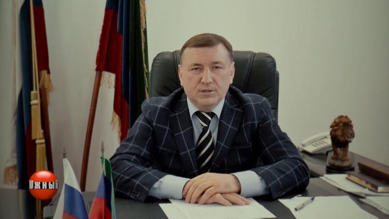 Поздравление Главы ГО город Южно-Сухокумск Эсенбулата Магомедова с 8 марта