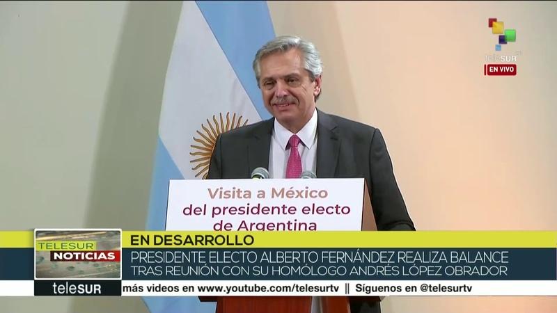 Alberto Fernández: Argentina y México profundizarán lazos