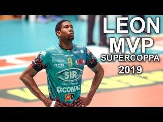 Wilfredo leon mvp italian supercoppa 2019