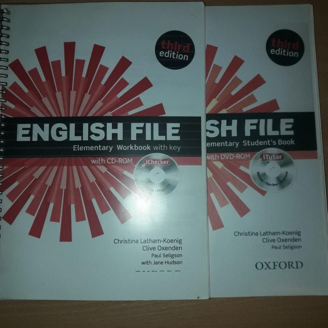 English File Elementary (третье издание)-3000 English File P
