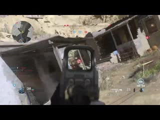 My view tilted after using cruise missile. modern warfare