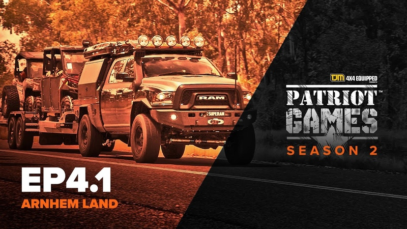 Patriot Games Season 2 • Episode 4 • Supertourer Convoy's Journey Into Arnhem Land - Part 1