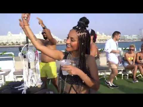 Adriana Ray at Agartha boat party season opening in Dubai 14 09 19