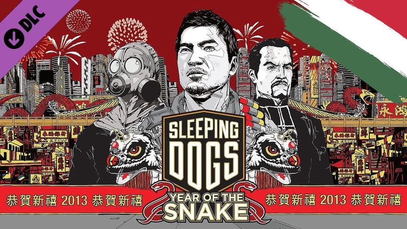 Sleeping Dogs Year of The Snake DLC |HUN Magyar|