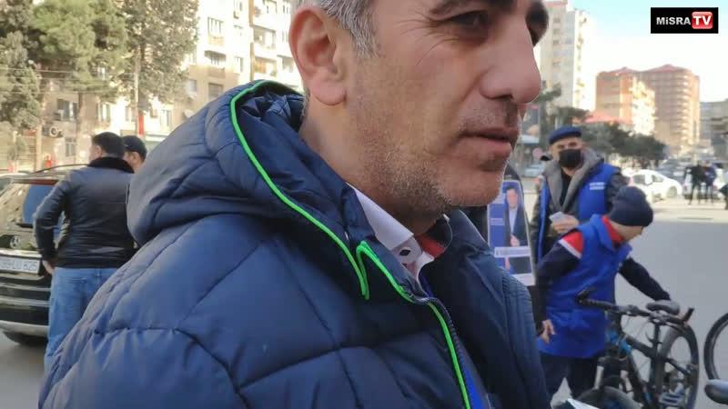 Millət vəkili namizədi dairəsində velosiped yürüyüşü keçirərək hər kəsi seçkilərə çağırdı fuadabbasov