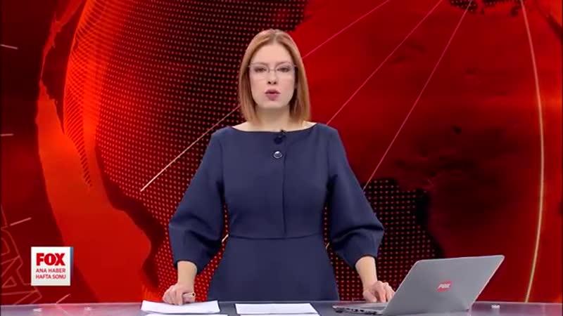 0025 Dakikalarca ambulans beklendi 24 Kasım 2019 Gülbin Tosun ile FOX Ana Haber Hafta Sonu