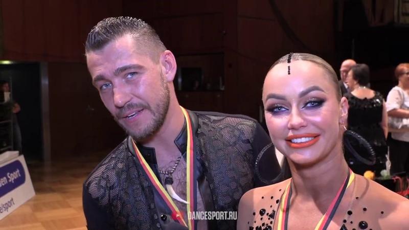 Timur Imametdinov - Nina Bezzubova GER, Interview, German Open Championships 2019
