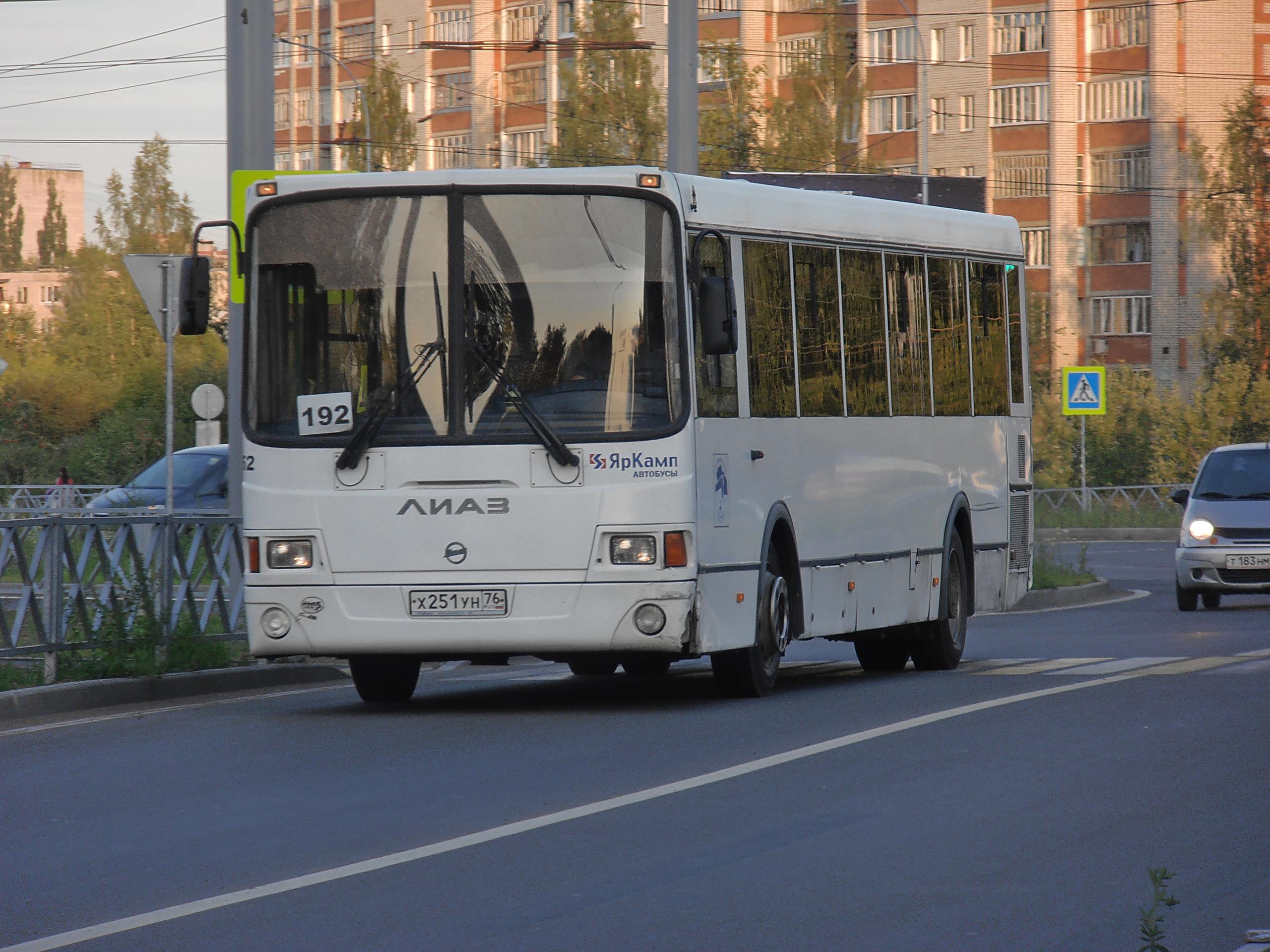 Автобус №192