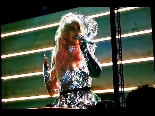 Christina Aguilera - Intro, Bionic, Your Body, Genie, The Voice Within (The X Tour Berlin)