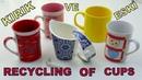 ESKİ VE KIRIK KUPALARIN İNANILMAZ GERİ DÖNÜŞÜMÜ How To Reuse Broken And Old Cups DIY