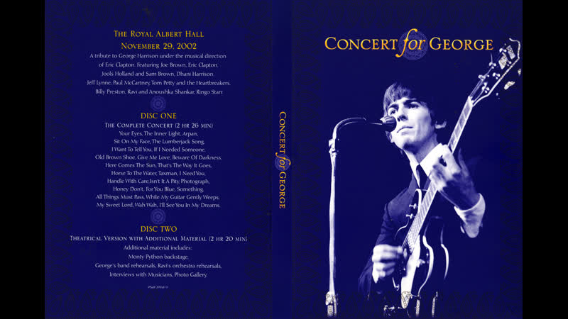 Billy Preston and Eric Clapton - Isn't It a Pity (Concert for George 2002)
