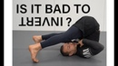 The invert is a fundamental movement in jiu jitsu... is it bad for you? (Dr Lachlan Giles)