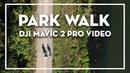 PARK WALK (Drone Footage DJI Mavic 2 Pro) Leipzig von oben