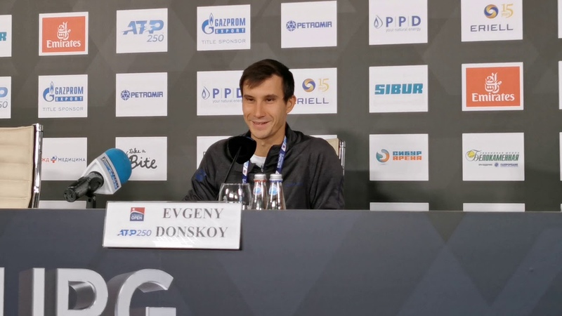 Евгений Донской стал соперником Даниила Медведева на St Petersburg Open 2019