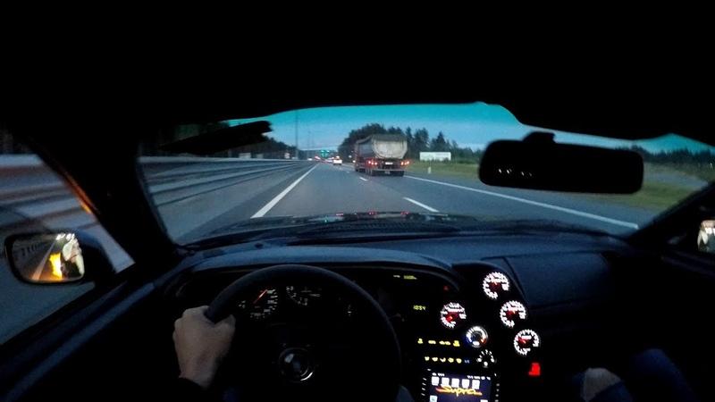 Toyota Supra 2JZ GTE Trip to Russia First person view POV
