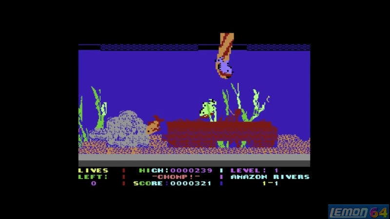 Chomp! (C64) - A Playguide and Review - by Lemon64.com