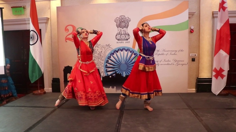 71st Republic Day of India in Georgia Teri Mitti Kesari Kathak Dance By Rima Shamo Abhidnya