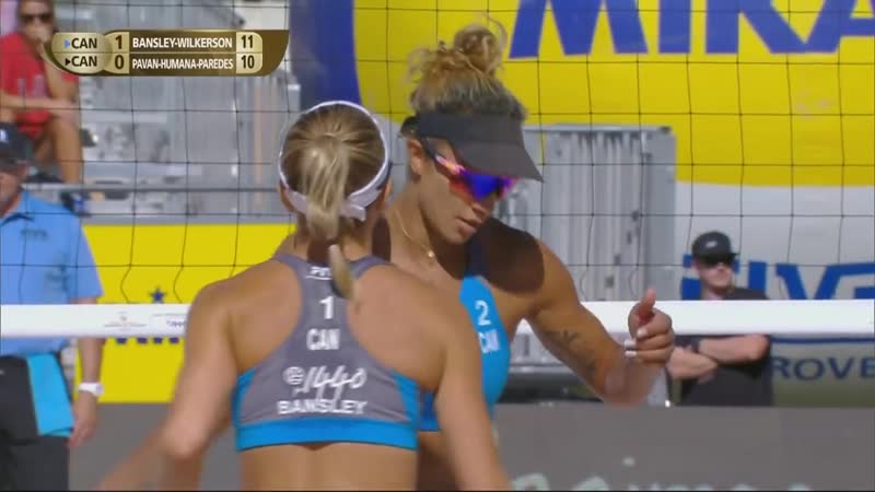 Las Vegas 4 Star 2018 FIVB Beach Volleyball World Tour Women Gold Medal Matc