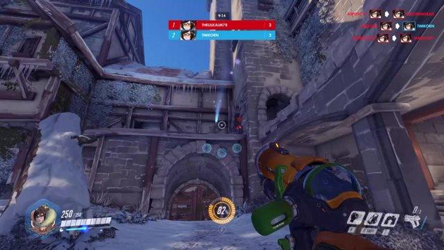 Overwatch игра в снежки Добро пожаловать к Nobi Life