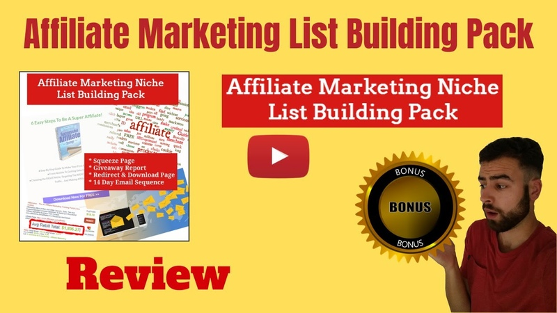 Affiliate Marketing List Building Pack Review ⚠️GET AFFILIATE MARKETING LIST BUILDING PACK BONUSES⚠️