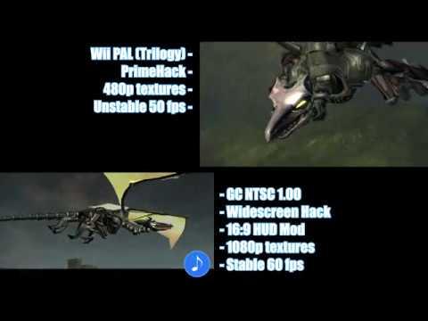 Metroid Prime - Meta Ridley [GC vs. Wii comparison]