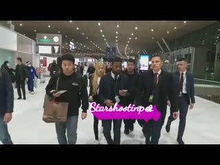 200226 rose @ charles de gaulle airport (paris, france) to incheon airport (seoul, korea)
