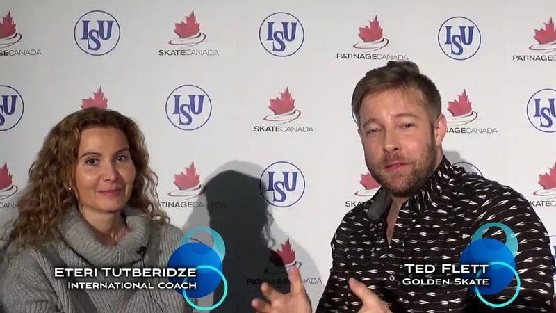 2016 Golden Skate Interview with Eteri Tutberidze